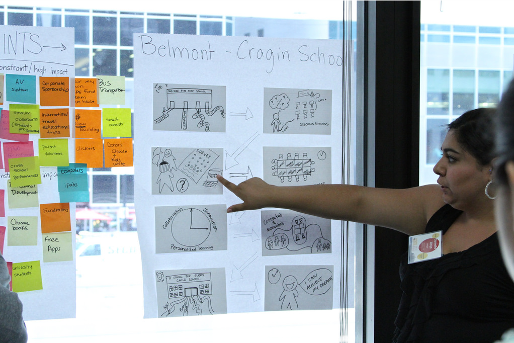 TRUESCHOOL ENGAGES EDESIGNERS IN INNOVATION LAB